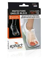 Epitact Sport Protections Ongles Bleus Epitheliumtact 02, Médium à Puy-en-Velay